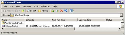 Instructions for running backups for SQL Server Express Edition